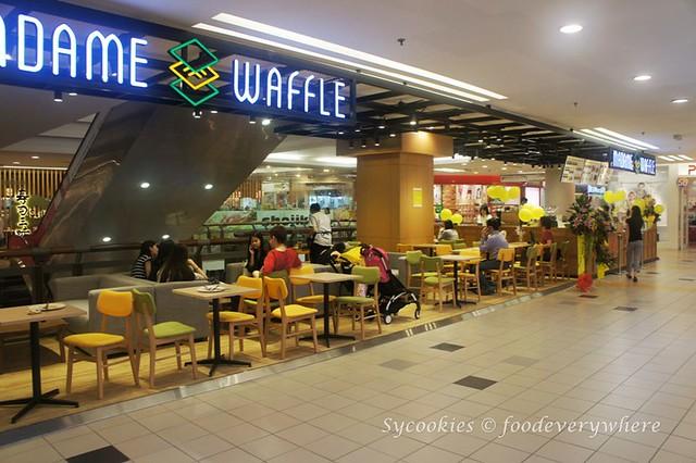 1.Madame Waffle @ 1Utama