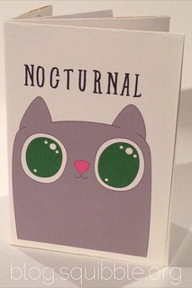 Nocturnal Zine by Squibble Design