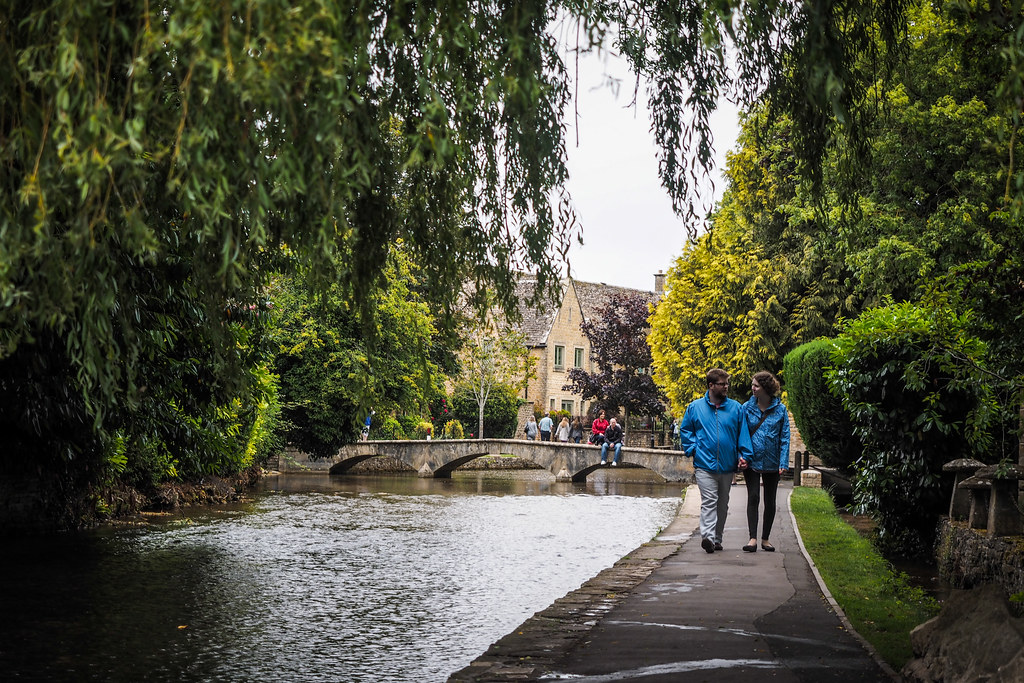 Bourton-on-the-Water, the Cotswalds, England