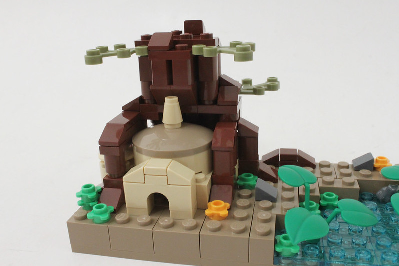 Review - LEGO Star Wars SDCC 2015 Dagobah Mini-Build από Brick Fan 19769500950_99bc186e39_c