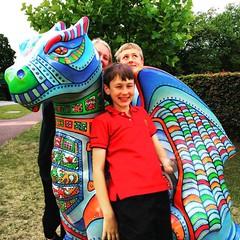 Today we're hunting dragons - fantastic effort creating the dragon trail in Norwich @gogodragons ! #upsticksandgo #norwich #communityart #unitedkingdom #dragonhunting #exploring #travel #instagood #instadragon #travellingtheworld #instatourist #instatrav