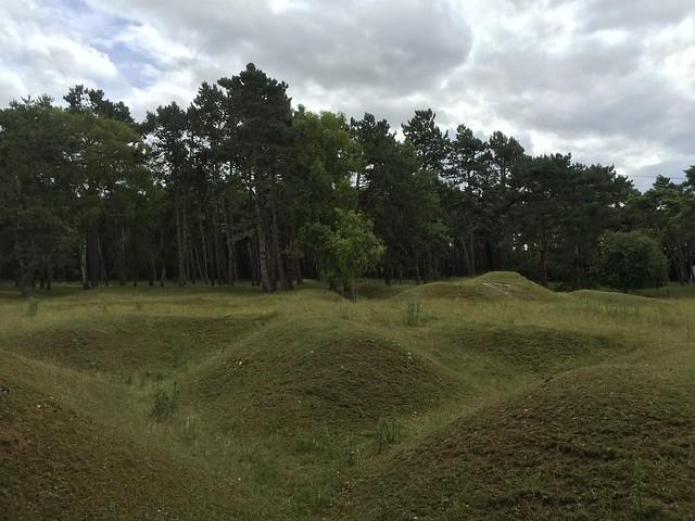 Campo de batalla canadiense en la I Guerra Mundial de la cresta de Vimy