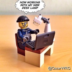 #LEGO_Galaxy_Patrol #LEGO #Desk #Lamp #DeskLamp @lego_group @lego @bricknetwork @brickcentral