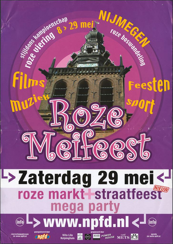 2004, Roze Meifeest Nijmegen