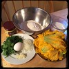 #Homemade #FrittelleFioriDiZucca #CucinaDelloZio - ingredients