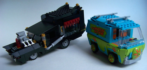 LEGO Scooby mystery machine review