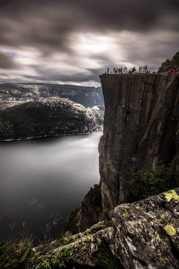 Preikestolen (The pulpit rock), Norway picture