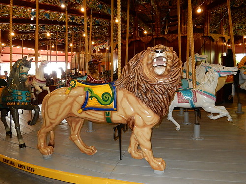 port dalhousie carousel lion (2)