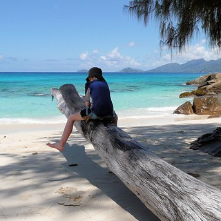 Anse Louis 長さ 462 メートルのビーチ の画像. panasonicdmctz3 2008 february mahé seychelles indianocean africa baielazare beach