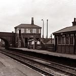 Lostock Hall station 1967