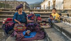 Street vendor   Antigua, Guatemala