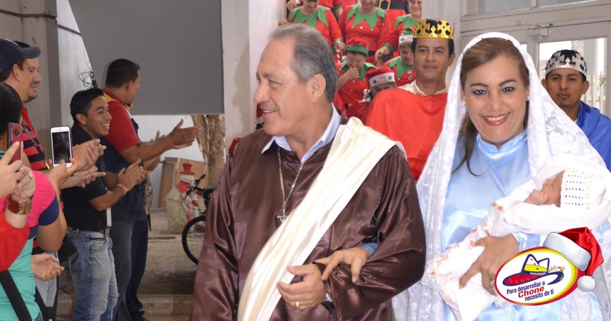 Con éxitos finalizó la Novena Municipal al Niño Jesús