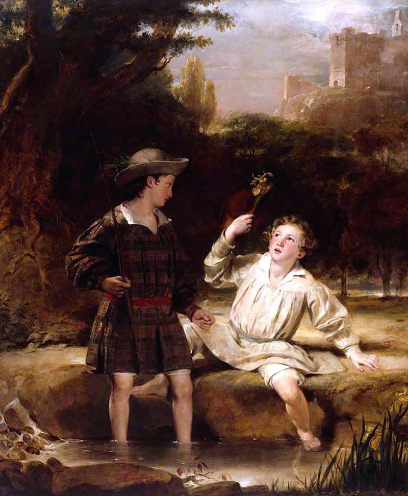 Auld Lang Syne by Sir John Watson Gordon, 1851