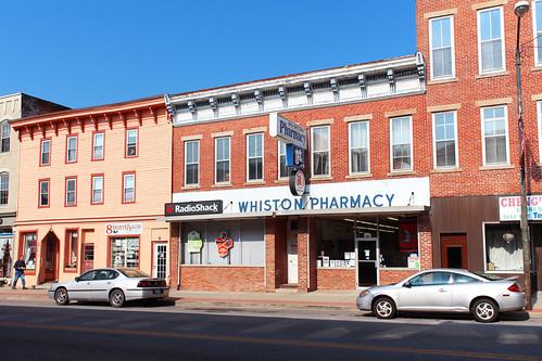 mountgilead morrowcounty ohio village downtown pharmacy retail