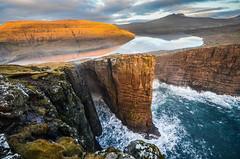 Leitisvatn, Vágar, Faroe Islands.