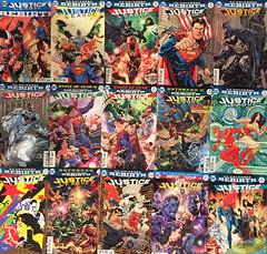 Justice League: Rebirth Collection!
