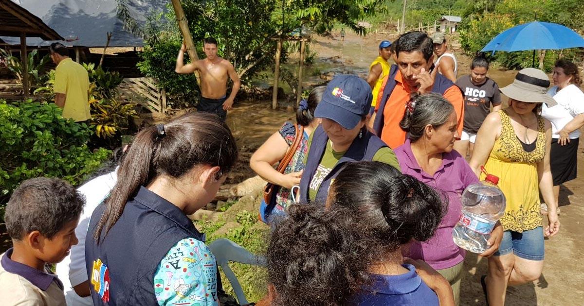 Afectaciones por desbordamiento de Río Garrapata fueron atendidas