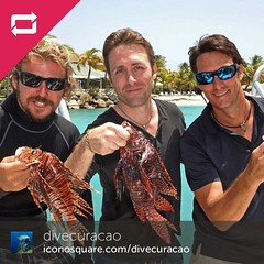 pcousteau @curacaoceanenconuters @divecuracao @sunscaperesorts Making history...