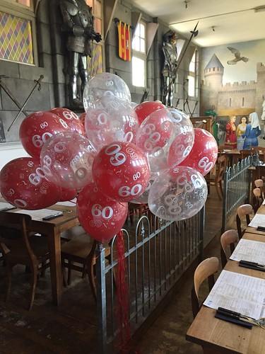Heliumballonnen 60 jaar Wapen van Poortugaal