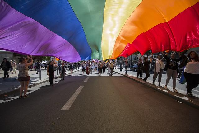 Rennes : 3.000 personnes à la marche des fiertés