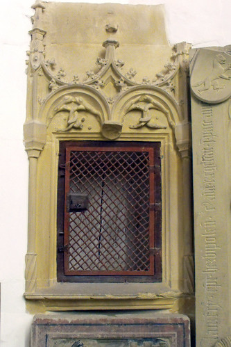 St. Leo, Bibra, Sakramentsnische