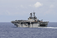 USS Bonhomme Richard (LHD 6) file photo. (U.S. Navy/MC3 Derek A. Harkins)