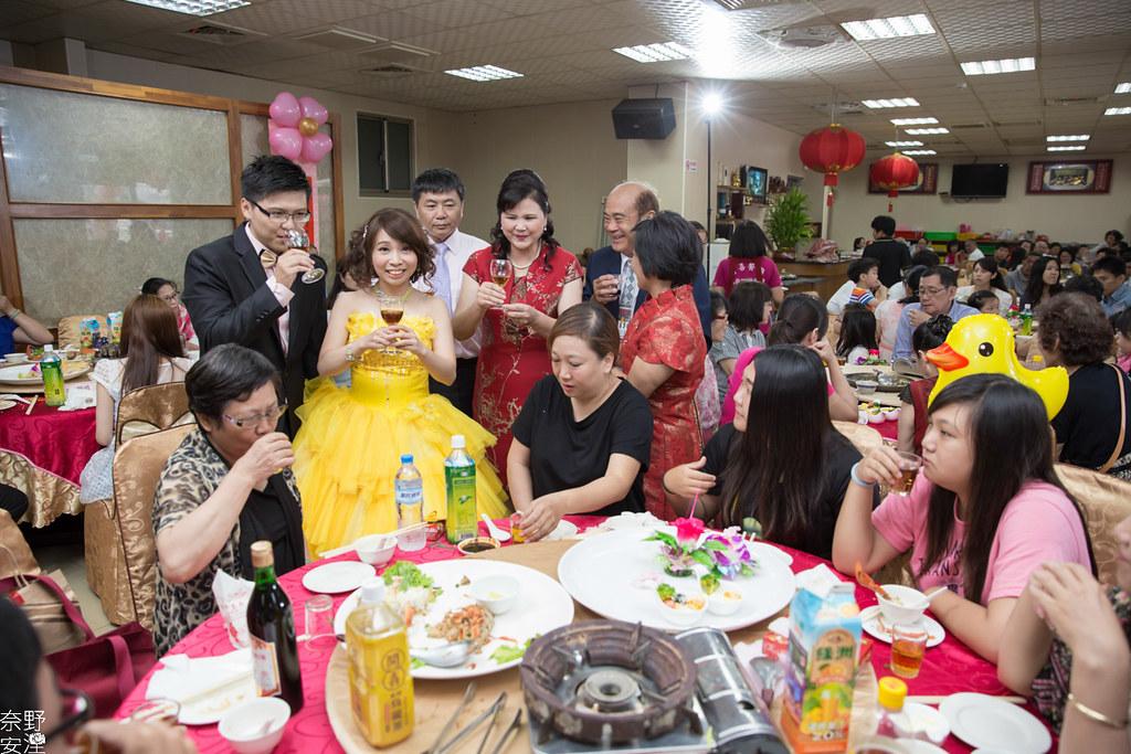 婚禮紀錄-高雄-展誠&鳳綿-文定午宴 X 吉喜海鮮餐廳 (82)