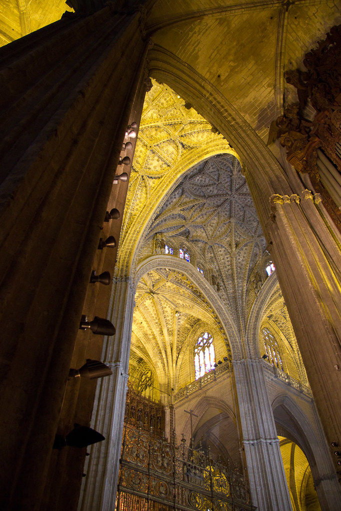 Inside the Cathedral of Seville