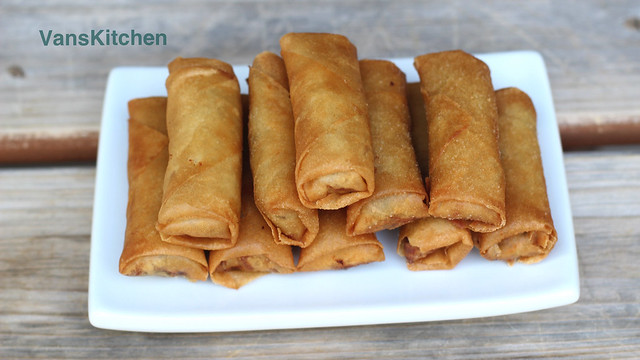 Chả giò, Nem rán (Vietnamese egg rolls)
