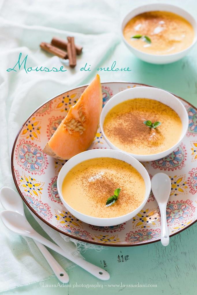 melon mousse
