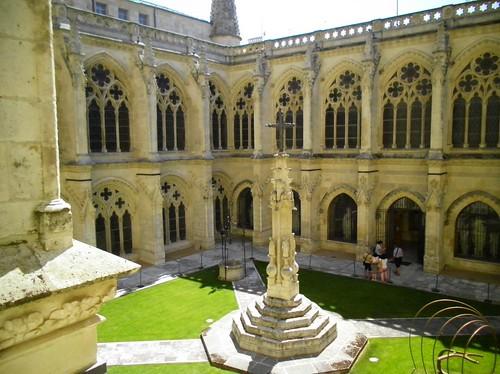 Il chiostro della Cattedrale di Burgos