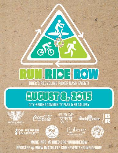 RunRideRow poster