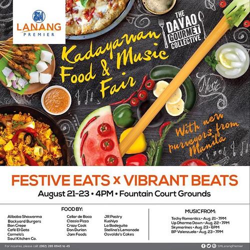 Davao Gourmet Collective Kadayawan Food and Music Fair 2015