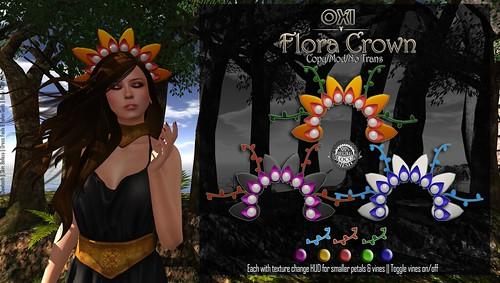 OXI - Flora Crown