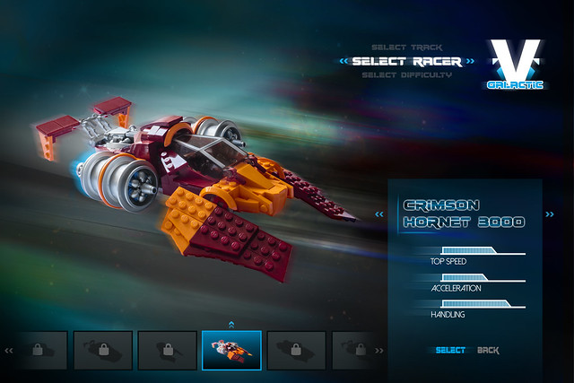 V-Galactic Racing: Crimson Hornet 3000