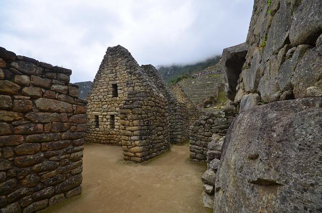 Interior de la ciudad de Machu Picchu