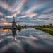 Clouds over Kinderdijk by dickvduijn
