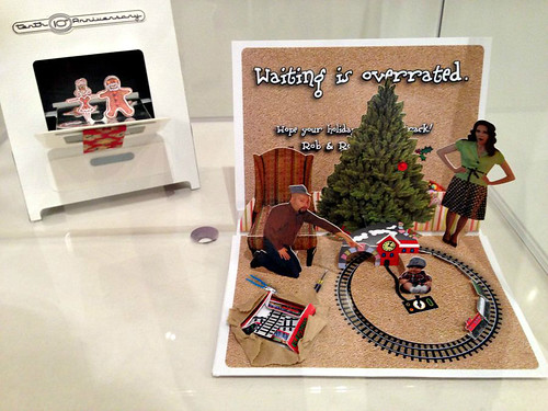 Paper Engineered Christmas Cards by Rob Kelly