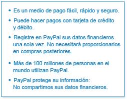 PayPal - La manera más fácil, rápida y segura de comprar.