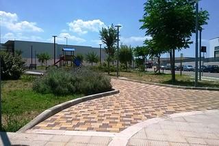 Noicattaro. Giardini zona PIP front