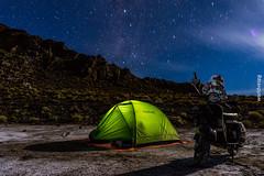 Wild camp at Uyuni salar