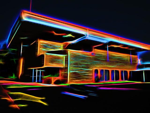 Clinton FUMC - Topaz Glow Blazing Neon II