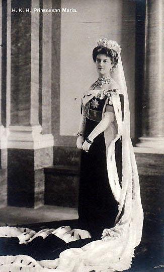 Princess Maria of Sweden, nee GRand Duchess Maria Pawlowa