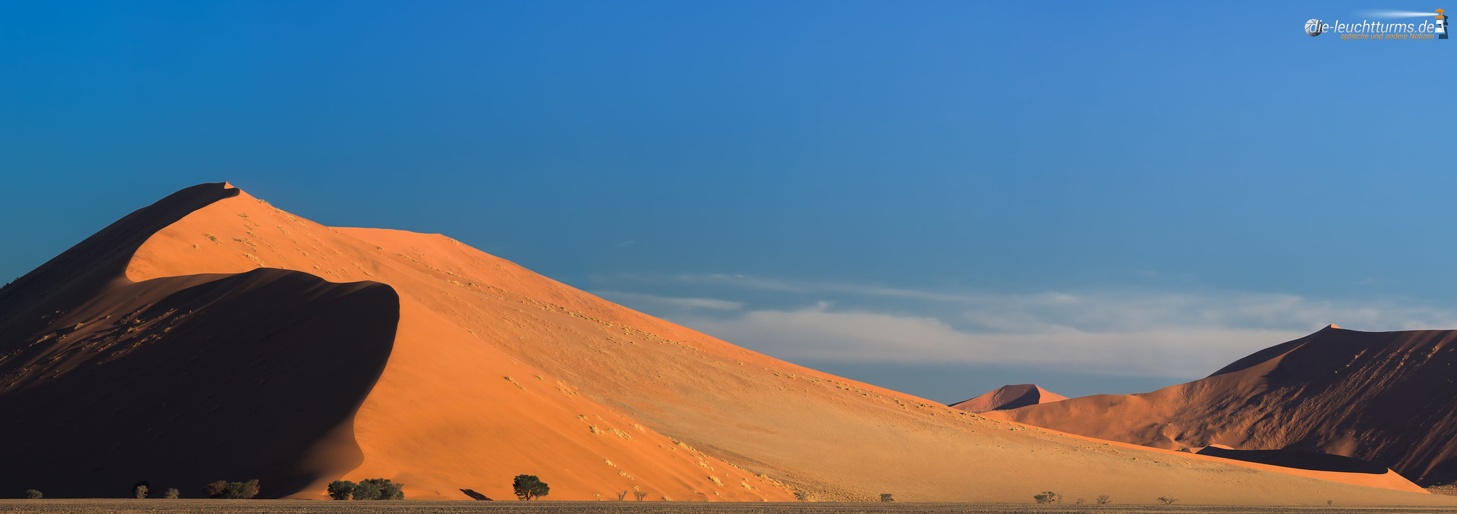 Dune 40 in evening sun