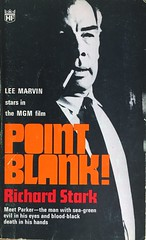 Vintage Pulp fiction. Point Blank by Richard Stark 1967. Lee Marvin cover