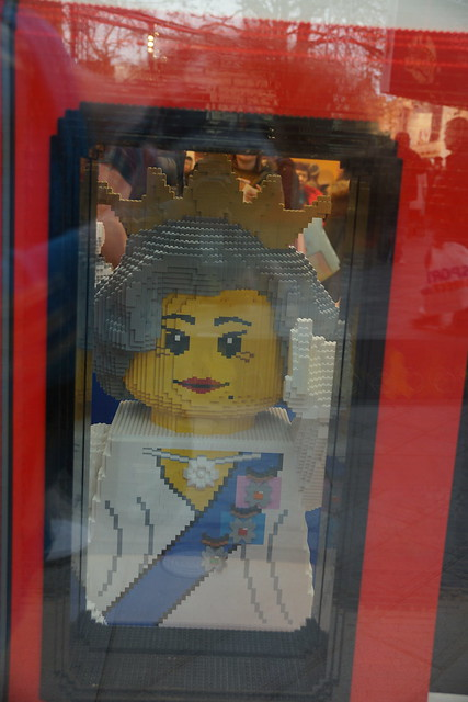 Her Majestry the Queen, LEGO Store, 3 Swiss Court, Leicester Square, City of Westminster, London