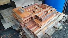 Twice-Recycled Lumber!