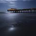 Moonlight at the Beach by Ken Krach Photography