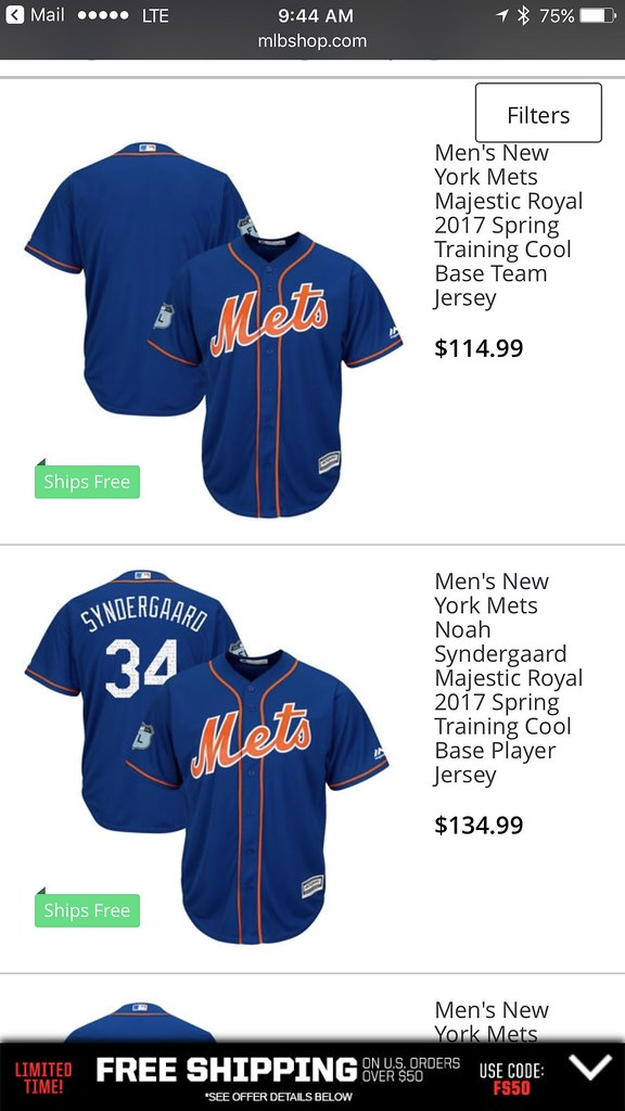 info for 0153d f7703 TheMediagoon.com: Mets: Spring Training Jerseys