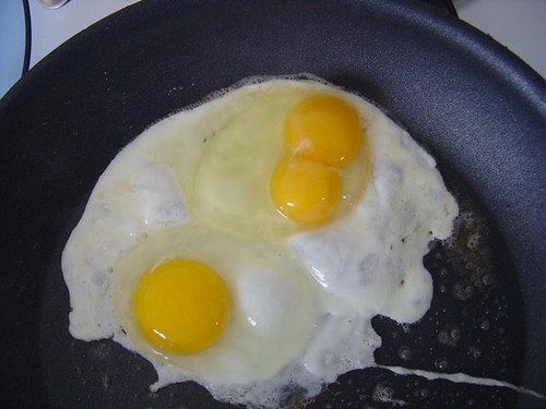 another two yokes egg!